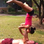 Acro Yoga is hardcore!